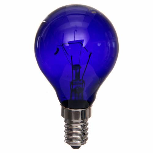 Lampada a filamento effetto wood 40W E14 s1