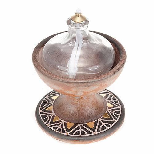 Lampada coppa ceramica s3