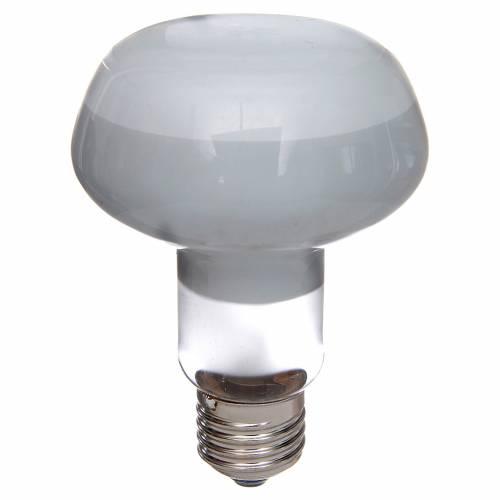 Lampada fascio diffuso 80° bianca E27 illuminazione presepi s1