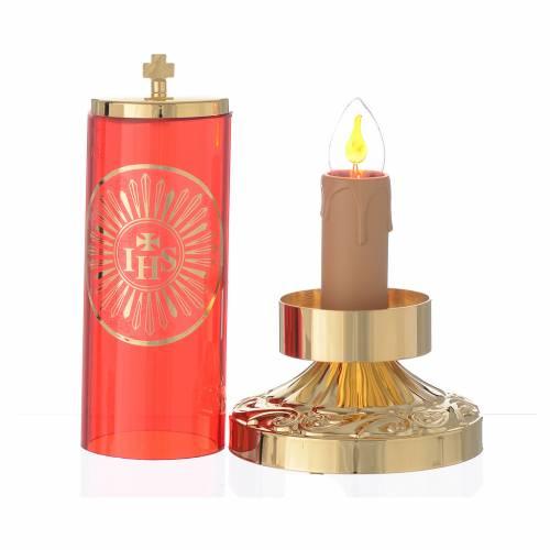Lampada per Santissimo stile impero elettrica s2
