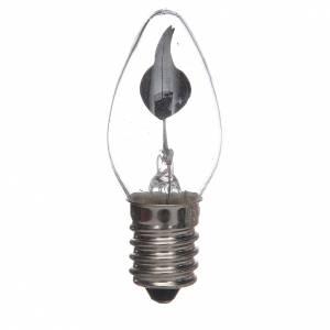 Luci presepe e lanterne: Lampadina effetto fiamma presepe 1,5W E14