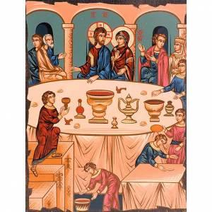 Íconos Pintados Grecia: Las bodas de Caná