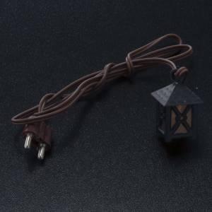 Lichter und Laterne für Krippe: Laterne für Krippe mit gelbem Licht niedrige Spannung