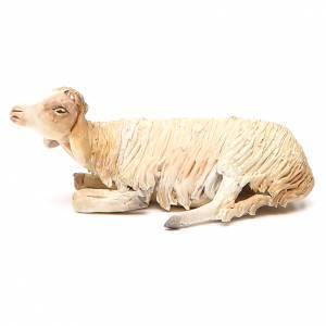 Laying sheep 18cm, Angela Tripi Nativity figurine s2