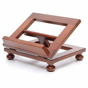 Book stands: Lectern in walnut wood 25x20cm