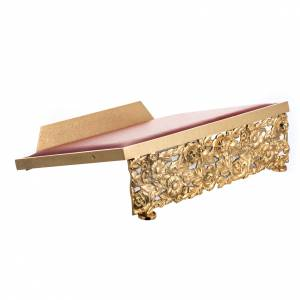 Leggii da tavolo: Leggio in ottone fuso dorato