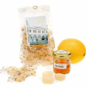 Sweets and candies: Lemon jelly sweets from Finalpia abbey