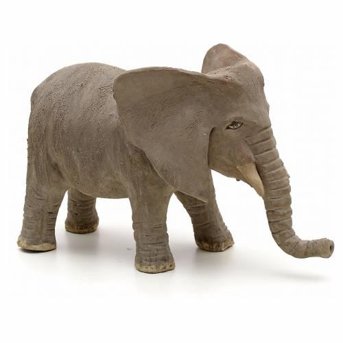 Éléphant pour crèche Napolitaine 10 cm s1