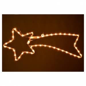 Weihnachtslichter: Leuchtende Christstern Led hellweiß aussen