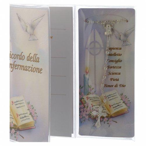 Libretto Ricordo Cresima Rosario - Italiano s3