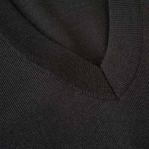 Light wool V-neck pullover s3