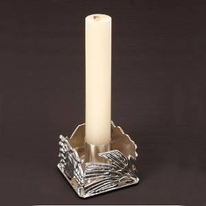 Liturgical candle holder spike and grapes s4