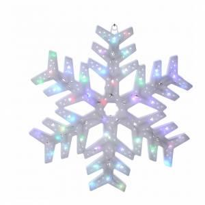 Luce Fiocco neve 50 led colorati interno esterno s1