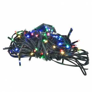 Luces de Navidad 120 mini LED multicolor programables para exterior-interior s1