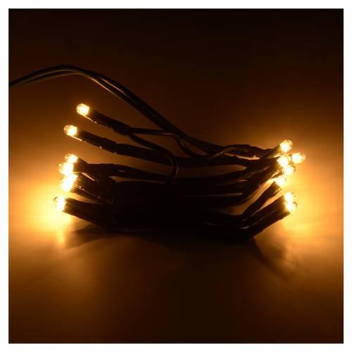 Luz 20 bombillas blanco amarillo de navidad para internos s2