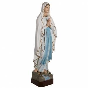 Madonna di Lourdes 130 cm marmo sintetico colorato s3