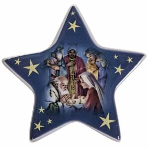 Magnete ceramica Adorazione dei Magi s1