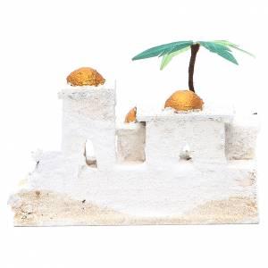 Maisonnettes arabes crèche 8x15x10 cm modèles assortis s4