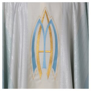 Marian Chasuble in pure Tasmanian wool s4
