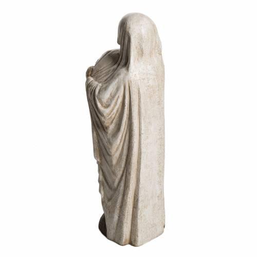 Marie et Jean Paul II 59 cm pierre Bethléem s4