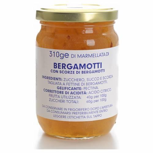 Marmellata bergamotti 310 gr Monastero Carmelitane s1