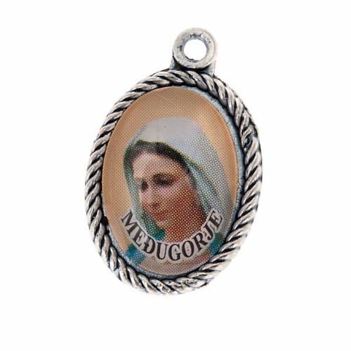 Medaglia Medjugorje Madonna e terra s1