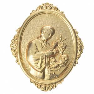 Medaglione per confraternite San Luigi mezzo busto s1
