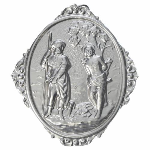Medaglione per confraternite SS. Rocco e Sebastiano s1