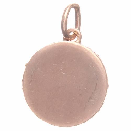 Médaille argent 800 ange Raphaël diam 1,7 cm s2