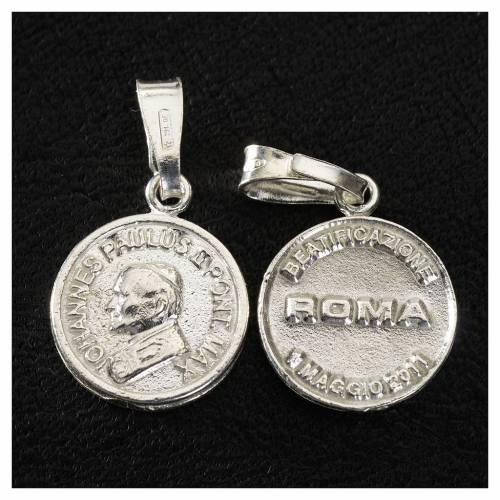 Médaille Jean Paul II Béatification s2