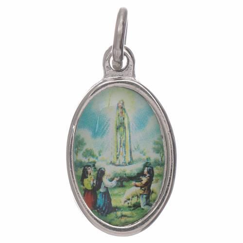 Médaille Notre Dame de Fatima 1,5x1 cm s1