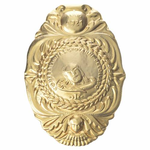 Medalla cofradía San Juan Bautista decapitado s1