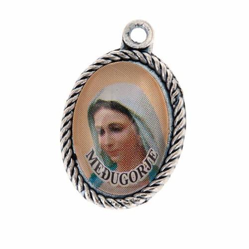 Medalla Medjugorje Virgen y Tierra s1