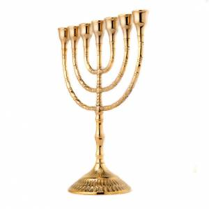 Candelabra: Menorah seven flame candlestick