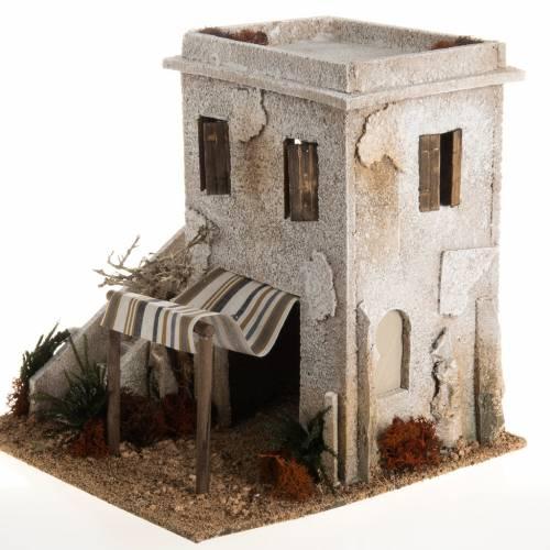 Minaret en miniature avec escalier crèche Noel s3