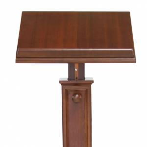 Lecterns: Modern style wood lectern