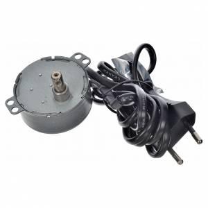 Pompe acqua presepe e motorini: Motorino per movimenti 4 watt 2 giri/min.