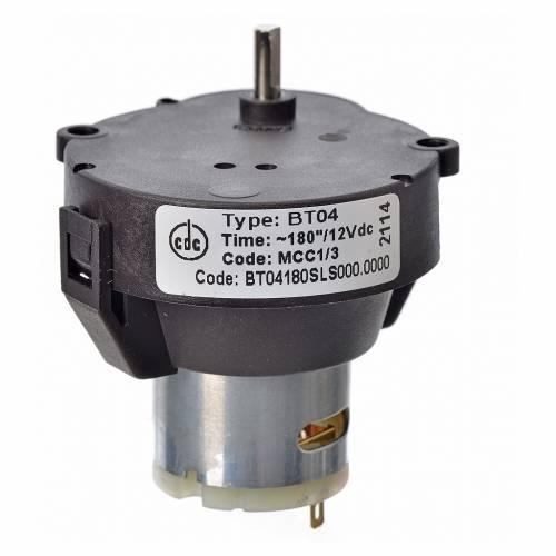 Motorreductor belén MCC corriente continua 12V rpm 1/3 s3