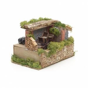Moulin à eau crèche mousse et lichen s2
