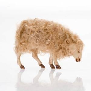 Mouton tête baissée crèche 14 cm s2