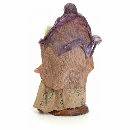 Mujer con el pan cm 8 pesebre napolitano 3
