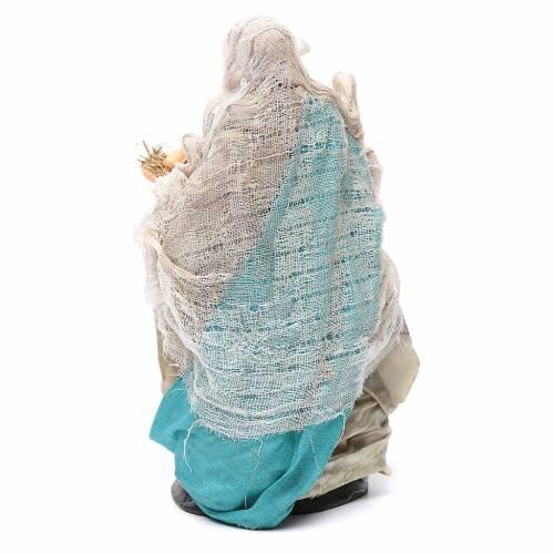 Mujer con huevos 18 cm. belén napolitano s4
