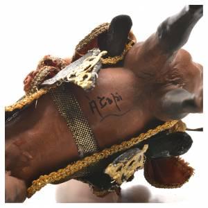 Angela Tripi Nativity scene: Mulatto Wise Man on horseback 13cm by Angela Tripi