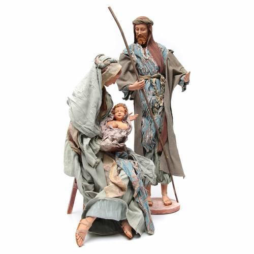 Nativité 90 cm style shabby s3