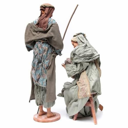 Nativité 90 cm style shabby s4