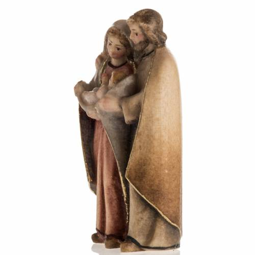 Nativité debout bois peint Val Gardena s3