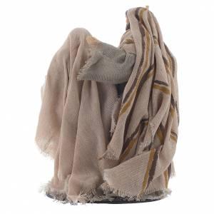 Nativité résine tissu style provençal 15 cm s2