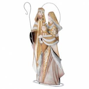 Nativité stylisée crèche métal s2