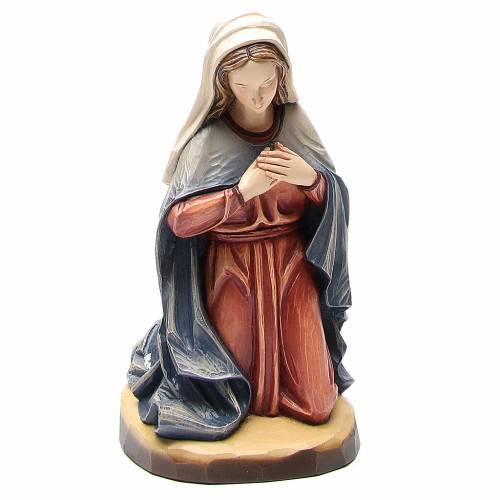 Nativity 60cm colored fiberglass Val Gardena s8