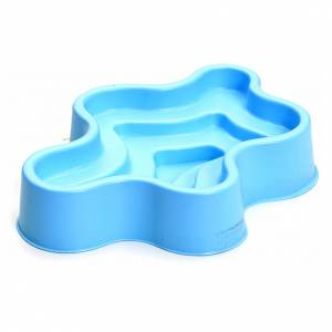 Water pumps and gear motors for nativity scenes: Nativity accessory, blue plastic pond